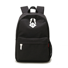 2016 Men Male Canvas Backpack for Teenage Girls School Bags Casual Rucksacks Women's Laptop Travel Bags mochila feminina