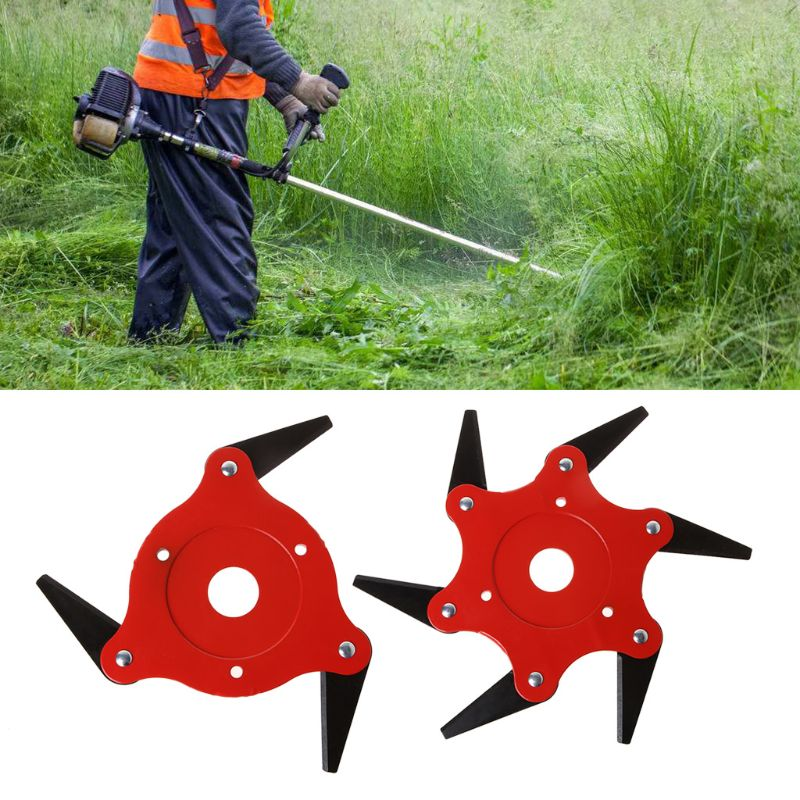 3T 6T Blade Manganese Steel Razor Mower Grass Trimmer Head Cutter Blade For Garden Lawn Machine Accessories Power Tools Easy Cut
