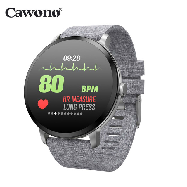 Cawono V11 Smart Watch IP67 Waterproof Fitness Heart Rate Blood Pressure Monitor Multi-sport Smartwatch for Android IOS Huawei