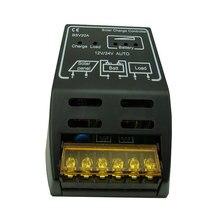 Novo lcd 20a 12 v/24 v autoswitch painel solar regulador de carga controlador fotovoltaico carregamento e descarregamento controlador