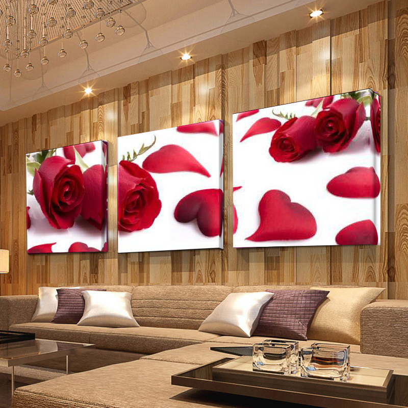 Hot Sale 3 Piece Home Decoration Canvas Wall Modular Pictures Fashion Print Art Oil Painting on Modern for Living Room Picture