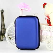 2.5″ HDD Bag External USB Hard Drive Disk Carry Mini Usb Cable Case Cover Pouch Earphone Bag for PC Laptop Hard Disk Case New