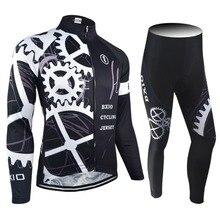 2017 nueva llegada bxio conjuntos ciclismo pro bicicleta de carreras ropa de otoño de manga larga uniformes de ciclismo hombre sport jersey 080