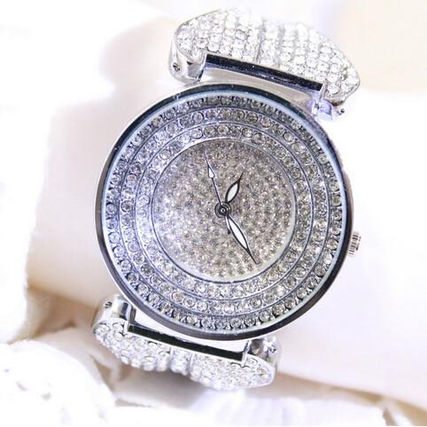2016 hot sale new designer famous brand women rhinestone watches diamond women dress watches for ladies
