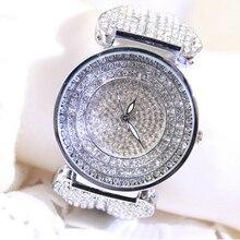 Горячее сбывание 2016 новый конструктор известная марка женщины rhinestone часы с бриллиантами женщины платье часы для женщин из нержавеющей стали ремешок