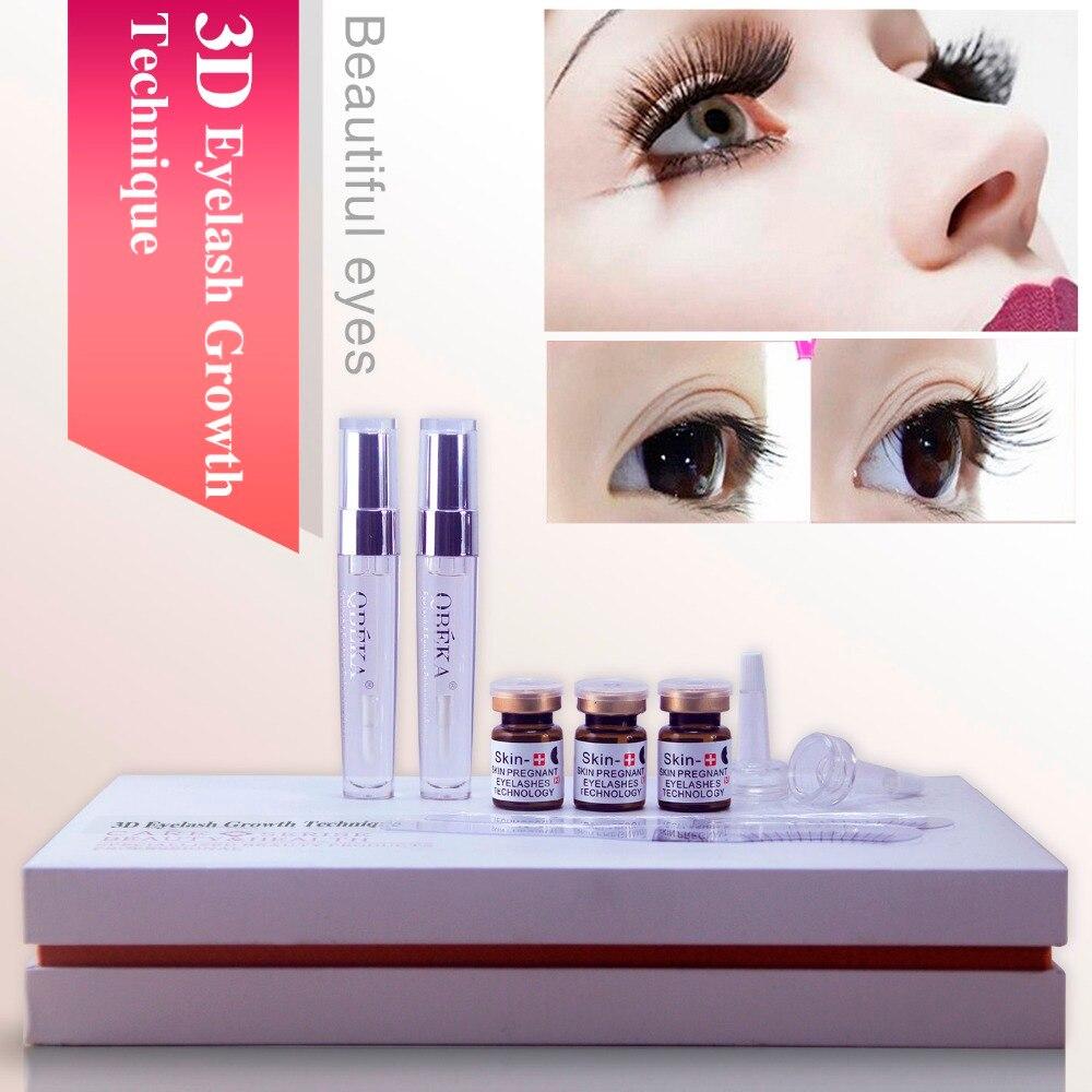 Qbeka 3d Eyelash Growth Technique Lashes Enhancing Liquid Eyelash