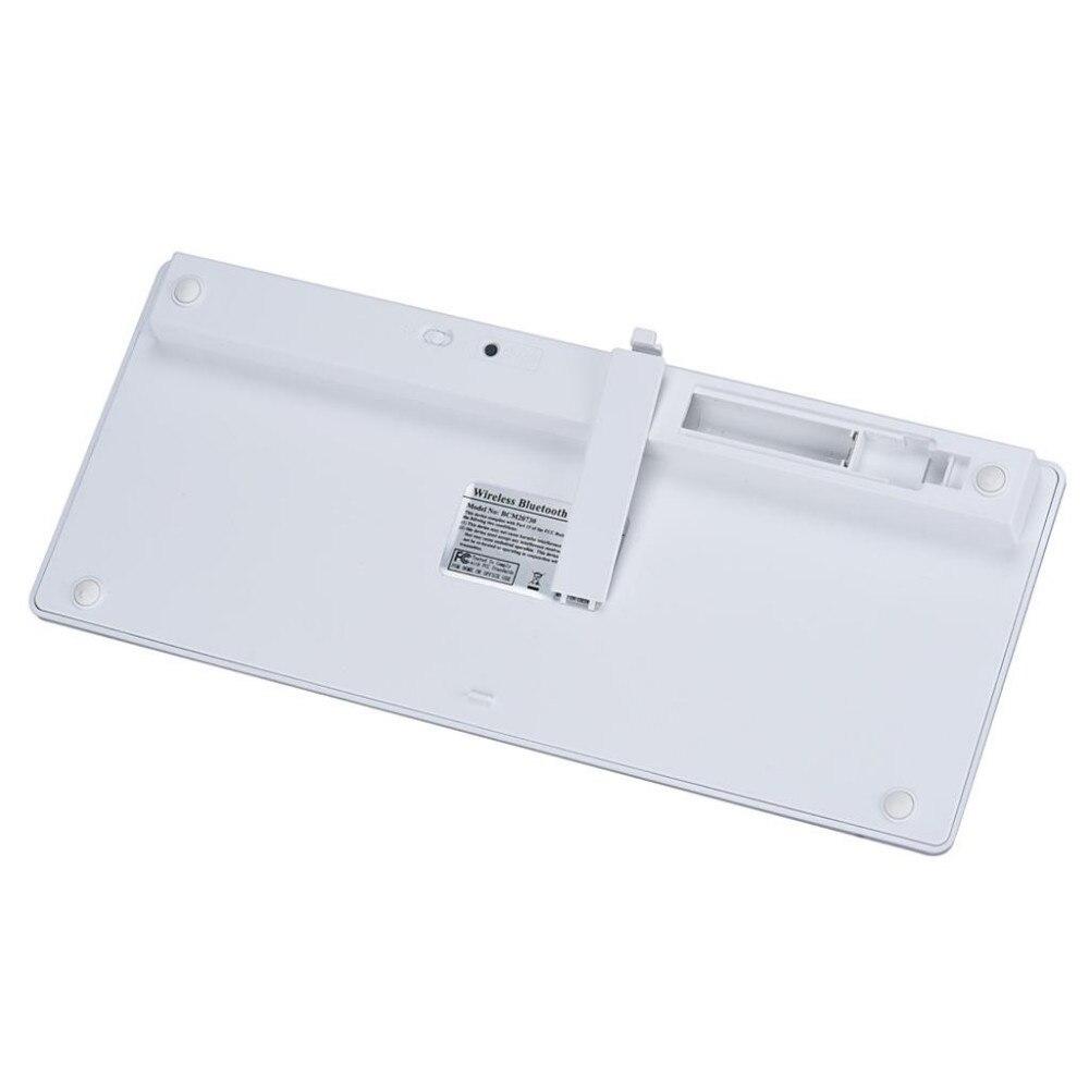 Image 5 - Kemile оптовая продажа профессиональная ультра тонкая беспроводная клавиатура Bluetooth 3,0 Клавиатура Teclado для Apple для iPad серии iOS системы-in Клавиатуры from Компьютер и офис