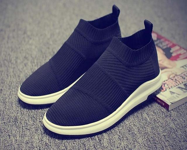 Sneakers Met Licht : Nieuwe man loopschoenen ademende merk sportschoenen licht sok