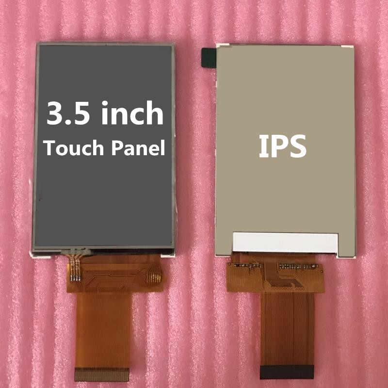 3.5 بوصة IPS شاشة الكريستال السائل شاشة سوبر زاوية عرض واسعة مع لوحة اللمس ILI9486 سائق 320*480 عالية الخلفية