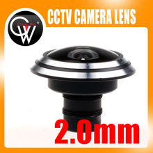 NEW 2.0mm lens MTV fisheye M12 lens 175 degree Angle Fixed lens for Video Surveillance CCTV Camera