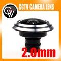 NUEVA 2.0mm lente MTV M12 lente de ojo de pez de 175 grados de Ángulo Fijo lente de Video Vigilancia CCTV Cámara
