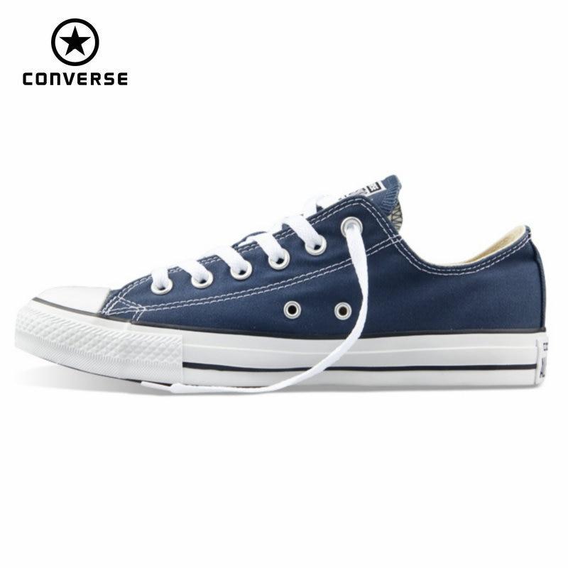 Первоначально конверс все звезды холст обувь мужская и женская кроссовки для мужчин женщин низкой классической скейтбордингом обувь беспл...