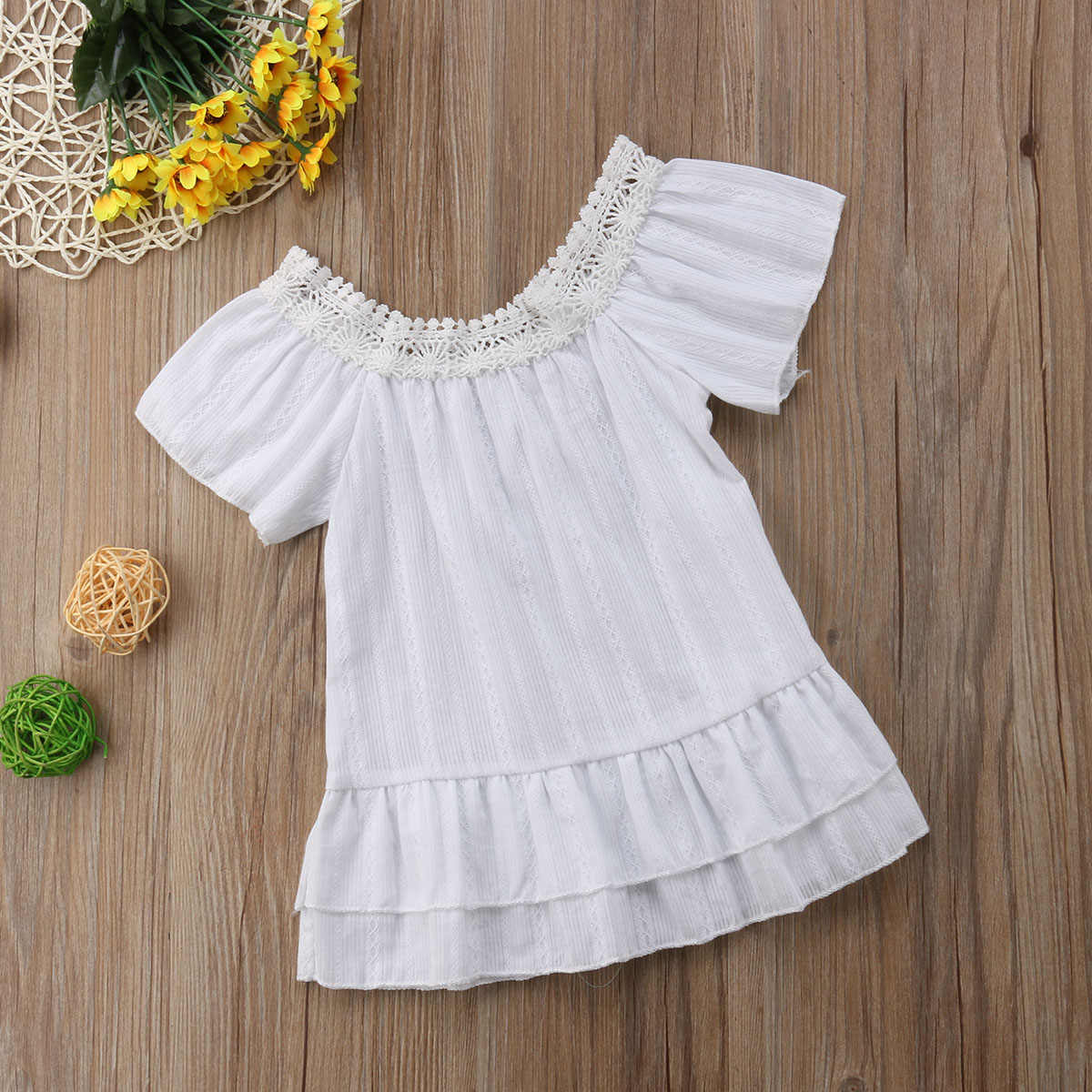 337c5877469d Detail Feedback Questions about Cotton Lace Girl Dress Kids 2018 ...