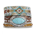 New Style Bohemia Summer HIPANEM Bracelet Handmade Beach Bracelet Magnetized Brazilian Glamour Jewelry Wholesale HIP229
