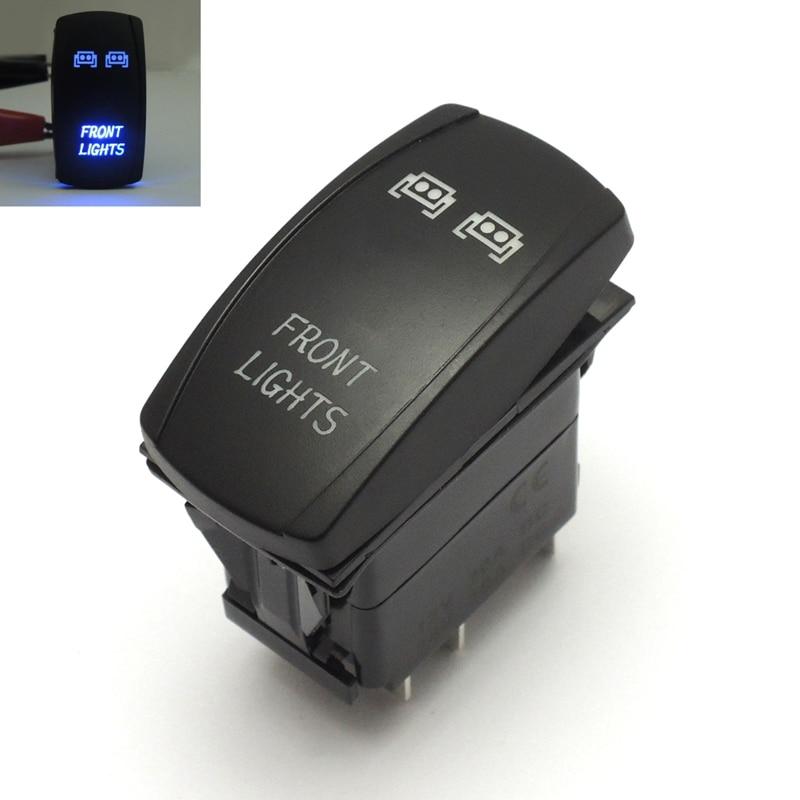 Blue LED Lights Bar Laser Front Rocker Switch Wiring Harness rzr
