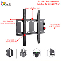 Universal 40KG TV Wall Mount Bracket Fixed Flat Panel TV Frame for 26 55 Inch LCD LED Monitor Flat Panel TV Stand Holder