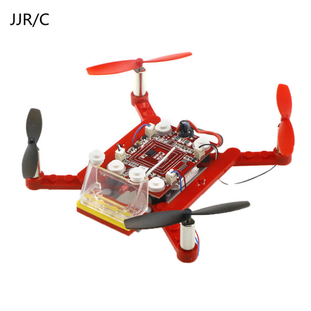 JJR C New Mini Helicopter Pocket Drone 3D Roll Toys RC DIY Small Particle