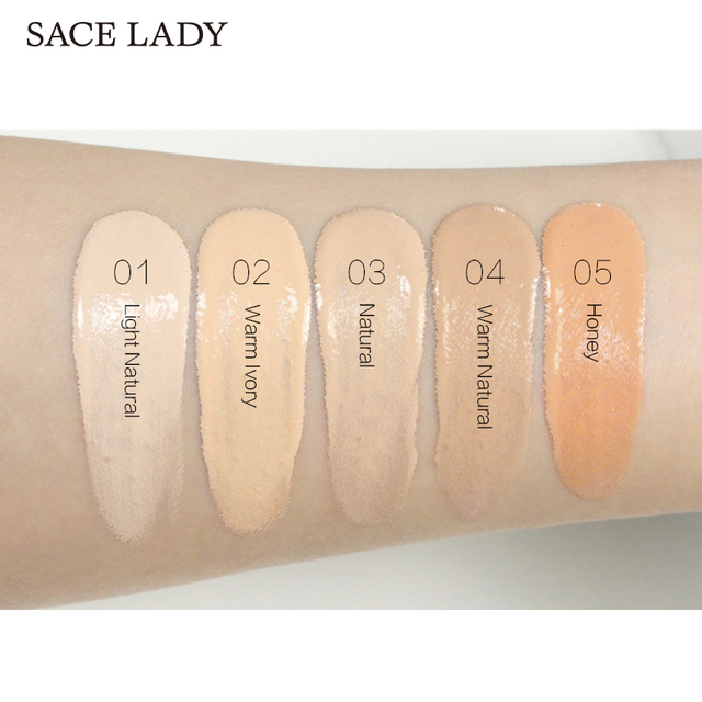SACE LADY Face Concealer Cream Full Cover Makeup Liquid Facial Corrector Waterproof Base Make Up for Eye Dark Circles Cosmetic 2