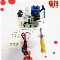 Генератор метанола топливный двигатель маленький микро двигатель внутреннего сгорания моторное масло подвижная модель образовательная и
