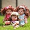 Reborn Baby Doll Soft Vinyl Silicone Lifelike Newborn Baby Speaking Toy FCI