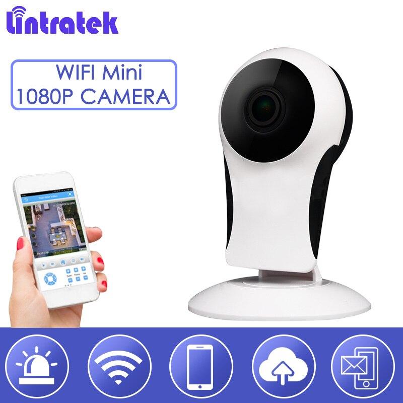 Lintratek Baby Monitor 1080HD 2.0MP ip cam 180 degree Network cctv Mini Security Wifi Camera Night Vision Pet Monitoring S38