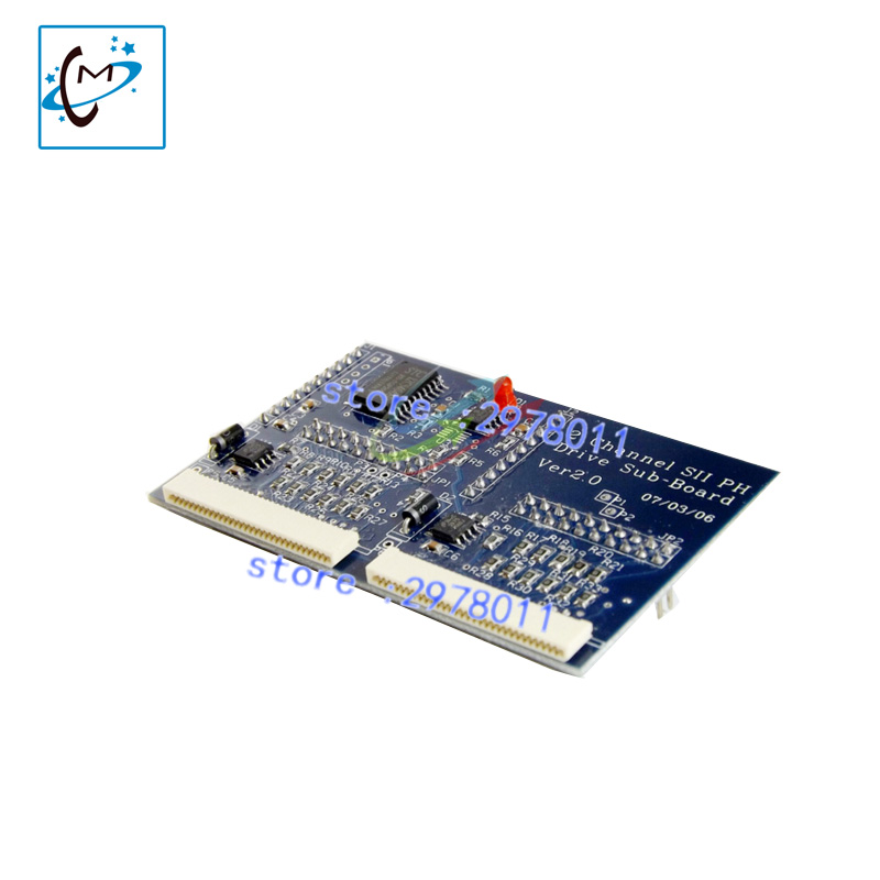 все цены на High quality !!! Spt 510 printhead connect board PCI transfer card for Infinity 3208 3206 outdoor inkjet printer optical card онлайн