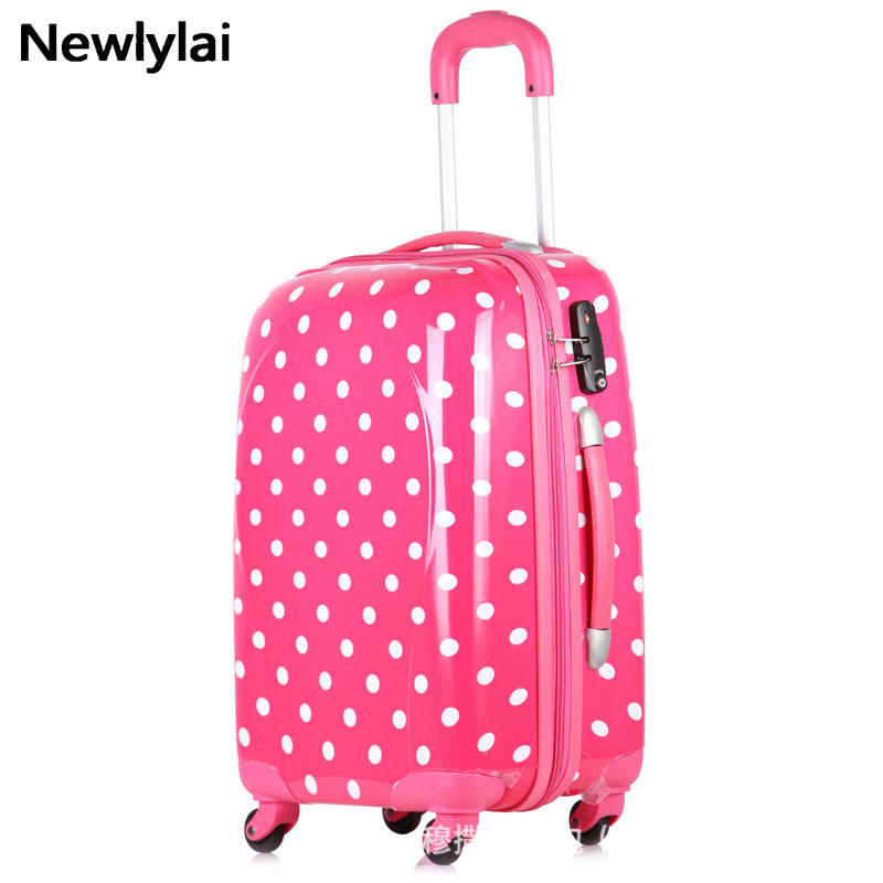 Travel Trolley Luggage SuitcaseABS and PC Spinner Cases Lock Hardside Rolling Luggage Boarding Suitcase With Wheels
