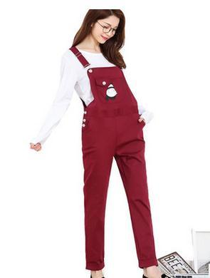 2016 new fashion spring and autumn maternity overalls  summer leisure Pregnant women suspender pants SH-8833