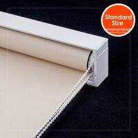 SCHRLING водонепроницаемые рулонные шторы модные затемненные с кассетой настенное крепление Затемненные окна жалюзи для кухни для гостиной