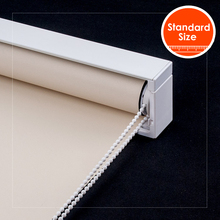 SCHRLING Waterproof Roller Blinds Fashion blackout with Cassette Wall Mount Blackout Window blinds for Kitchen For living Room