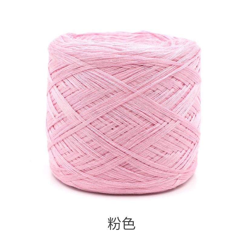 250 г/шт., белая, небеленая, оригинальная, Экологичная, здоровая, хлопковая, вязаная пряжа, детская, натуральная, мягкая, пряжа для вязания крючком - Цвет: light pink