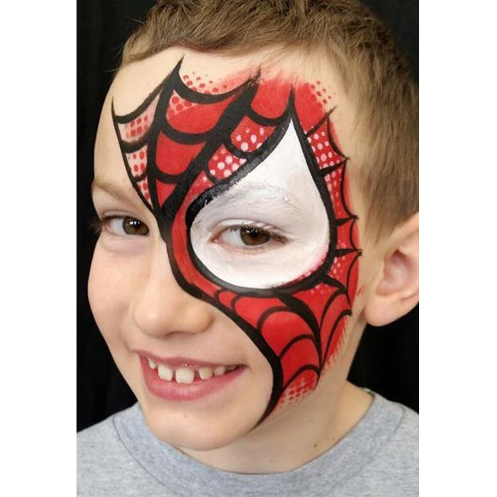 Non Toxic Colors Face Painting Splicing Structure