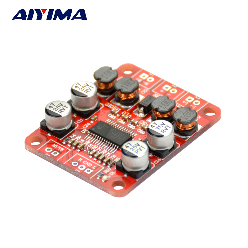 Aktiv Aiyima Tpa3110 Stereo Digital Power Audio Verstärkerplatine Dual Channel 2x15 Watt Verstärker Einfach Zu Verwenden