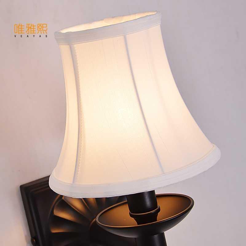 Veayas Led современный Утюг настенное настенный светильник внутреннего освещения настенные бра с белым оттенком для спальни
