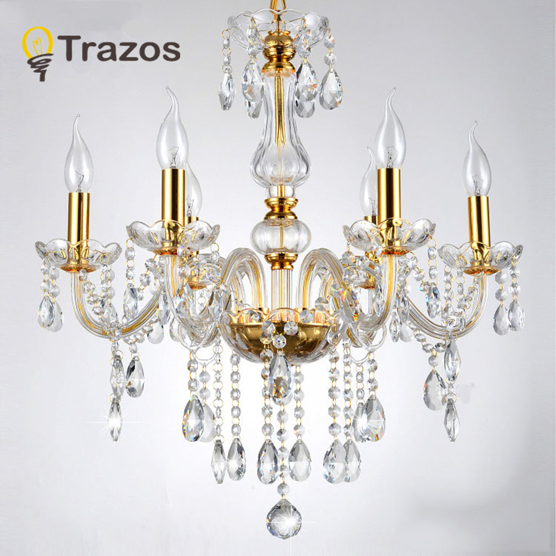modern crystal chandelier k9 crystal 110 240v lustres de cristal chandelier for living room or. Black Bedroom Furniture Sets. Home Design Ideas