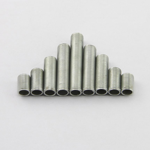 5pcs <font><b>M10</b></font> <font><b>Hollow</b></font> full dental tube Tooth <font><b>screw</b></font> External tooths bar Toothed light fittings Connecting tube box 1mm tooth 65-110mm L image
