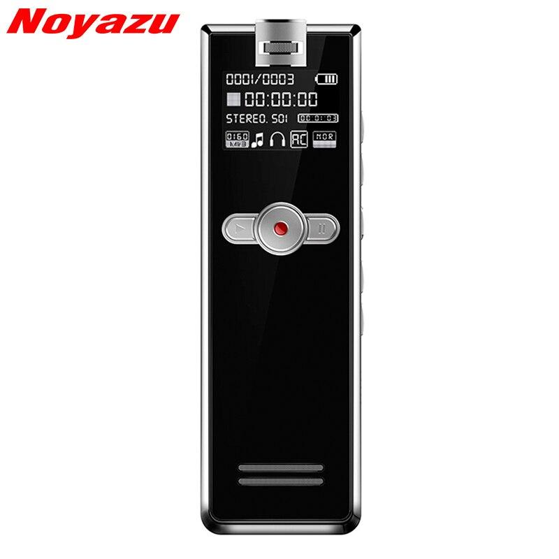 Noyazu F2 16 GB Mini Professionnel de Réduction Du Bruit Sound Recorder Avec Enregistrement Téléphonique Dictaphone Enregistreur Vocal Activé