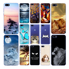 Geruide Case For Huawei Y5 Lite 2018 Soft silicone design Phone shell Cover Coque Capa For Huawei Y5 2018 Y 5 Lite DRA-LX5 silicone case for huawei y5 2018 case huawei y5 lite 2018 dra lx5 candy color soft tpu phone cover for huawei y5 y 5 prime 2018