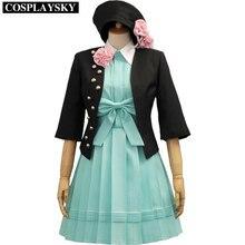 Amnesia heroine dress cosplay uniforme de halloween para mujer niñas