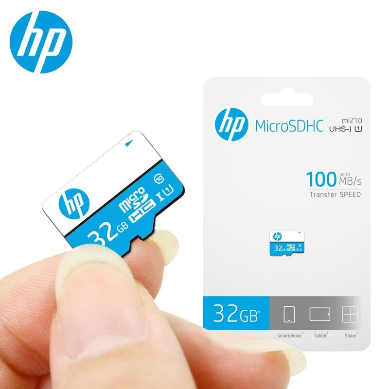 HP Original tarjeta de memoria 16 gb 32 gb 64 gb 128 gb venta al por mayor Dropshipping. exclusivo. Precio microSDHC/SDXC tarjeta TF cartao de memoria envío gratis
