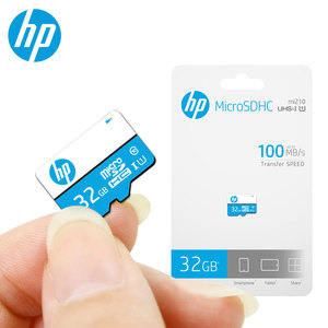Image 1 - Original HP Memory Card 16gb 32gb 64gb 128gb Wholesale Dropshipping Price microSDHC/SDXC TF Card cartao de memoria Free Shipping