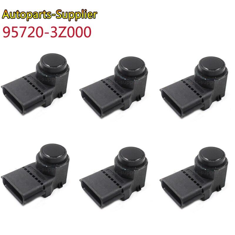 6 sztuk czujnik parkowania PDC dla Hyundai i40 95720-3Z000 957203Z000 4MT006KCB 4MT006HCD 95720-2P500 95720-3N500