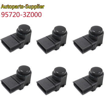 6PCS PDC Parking Sensor For Hyundai i40 95720-3Z000 957203Z000 4MT006KCB 4MT006HCD 95720-2P500 95720-3N500