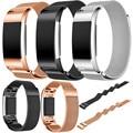 Nueva Llegada 2017 Marca correas de Reloj de Oro Rosa Pulsera de Acero Inoxidable smart watch band correa para fitbit cargo 2 venta caliente de la correa
