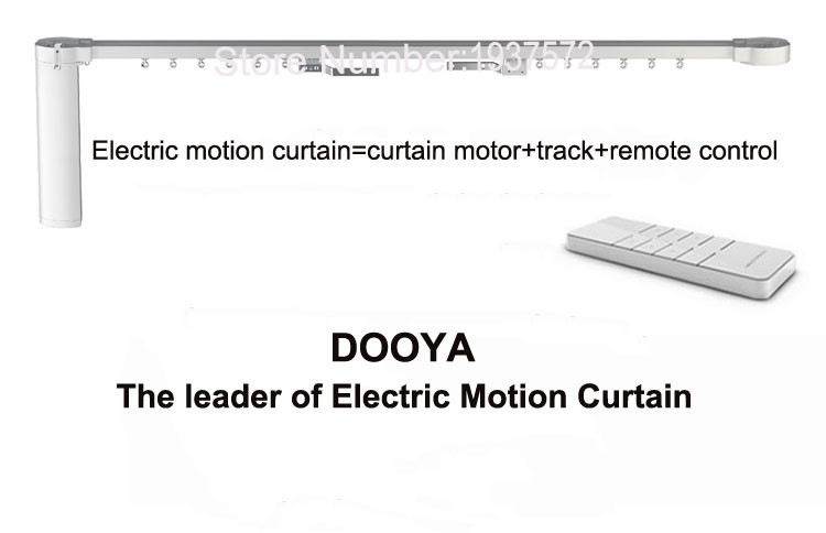 Original Dooya Home Automation Electric Curtain Motor KT320E-45W+DC92 5 Channel Emitter WIFI Control 220V50Hz 45W IOSAndroid