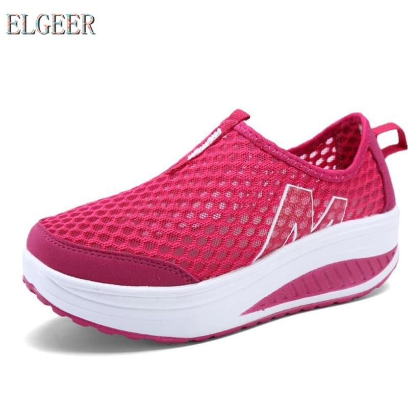 2018 الأحذية الرياضية النسائية المنحدر - أحذية المرأة
