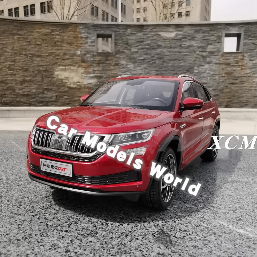 Diecast Car Model for Kodiaq GT SUV 1 18 Red SMALL GIFT