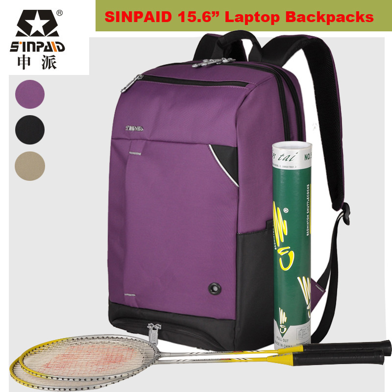 ФОТО 2017 Fashion Laptop Backpacks 15.6 Laptop Bag Men Women Sports tennis bag badminton bags Travel Outdoor Mochila Masculina Bag