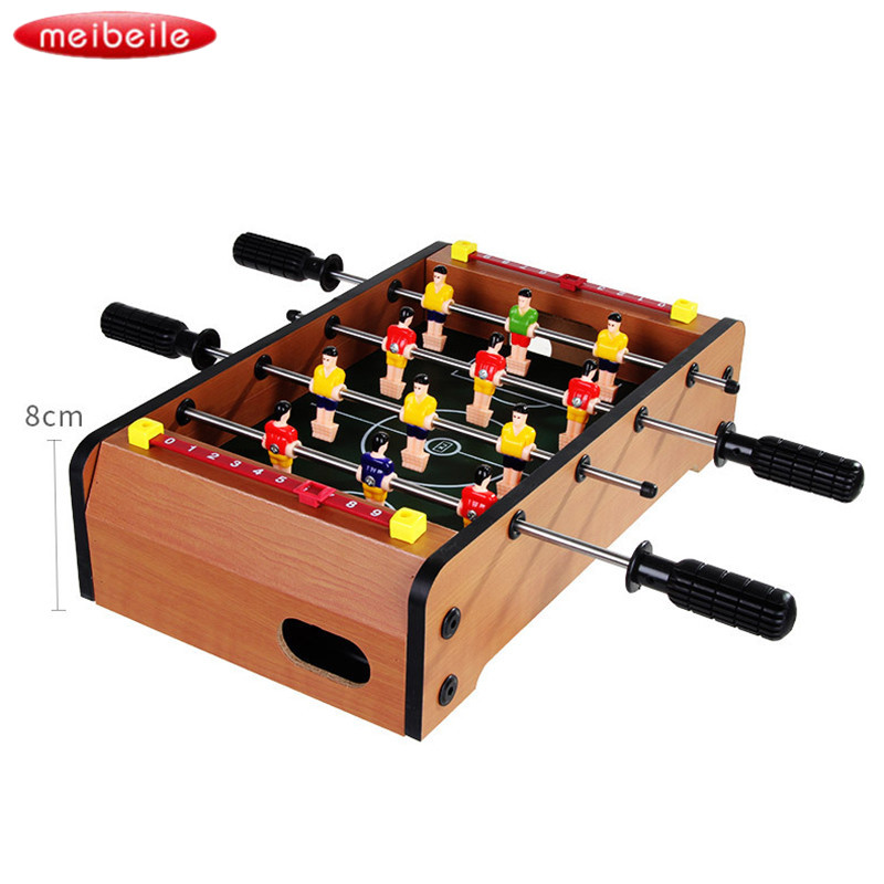 31.5x21x8cm Parent-child interaction Table Soccer Game with Two Balls and Score Keeper Interpersonal Relation Developing kid toy