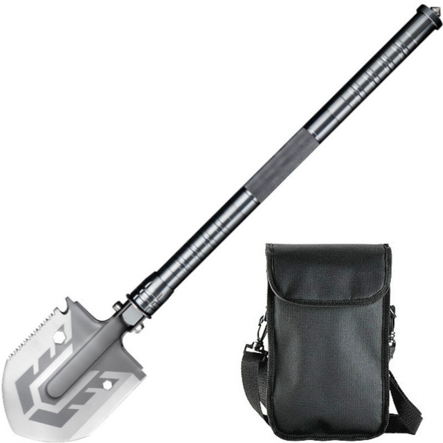Tactical folding shovel 58 hrc mil